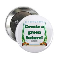 "Green Future 2.25"" Button"