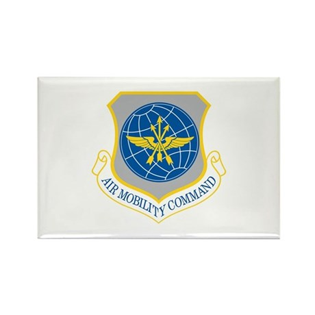 Air Mobility Command Rectangle Magnet