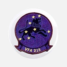 """VFA 213 Black Lions 3.5"""" Button"""