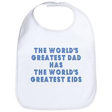 Great Dad Great Kids Matching Bib
