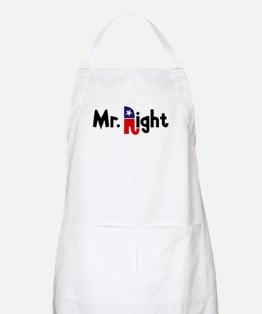 Mr. Right BBQ Apron