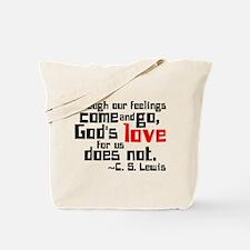 God's Love for Us Tote Bag