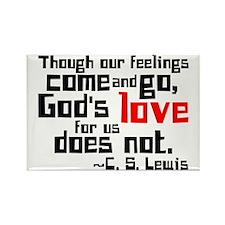 God's Love for Us Rectangle Magnet (10 pack)