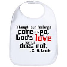God's Love for Us Bib