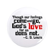 """God's Love for Us 3.5"""" Button"""