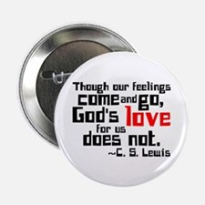 """God's Love for Us 2.25"""" Button"""
