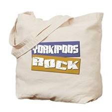 Yorkipoos ROCK Tote Bag