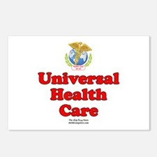 Universal Health Care Postcards (Package of 8)