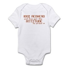 100% Redhead Infant Bodysuit