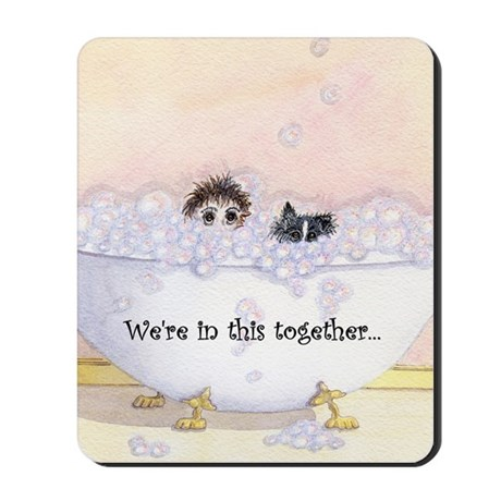 We're in this together 2 Mousepad