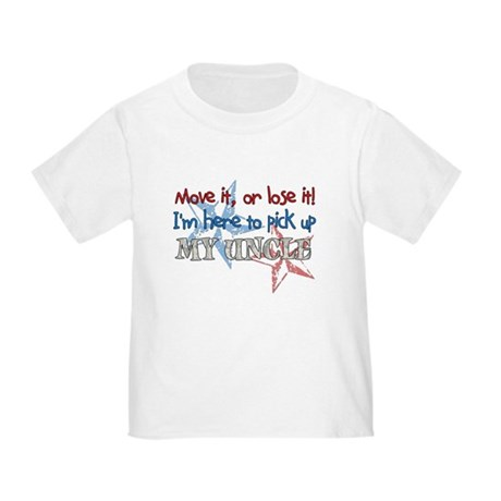 Move it or Lose it - Uncle Toddler T-Shirt