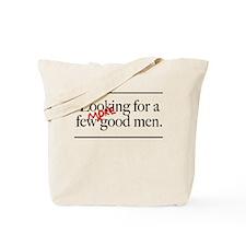 More Good Men Tote Bag