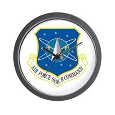 Space Command Wall Clock