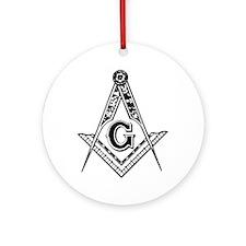 Masonic Ornament (Round)