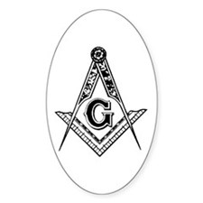 Masonic Oval Bumper Stickers