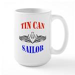 Tin Can Sailor Large Mug