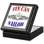 Tin Can Sailor Keepsake Box