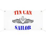 Tin Can Sailor Banner