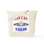 Tin Can Sailor Tote Bag