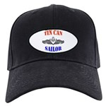 Tin Can Sailor Black Cap