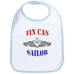 Tin Can Sailor Bib