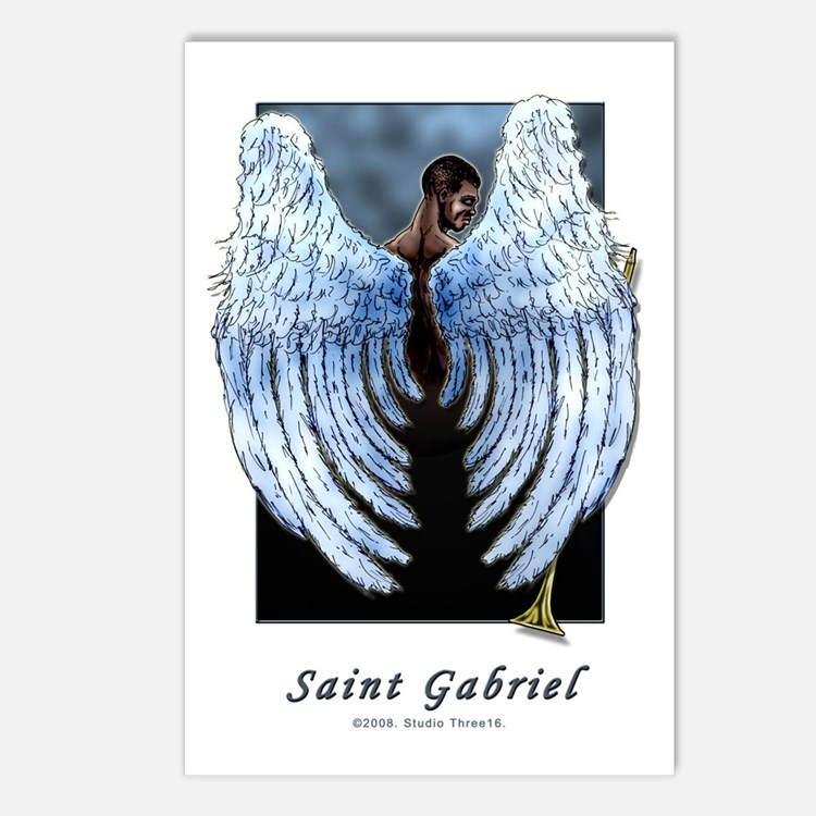 Saint Gabriel the Archangel Postcards (Package of