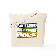 Shelties ROCK Tote Bag
