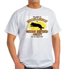 Secret German Shepherd Agility T-Shirt