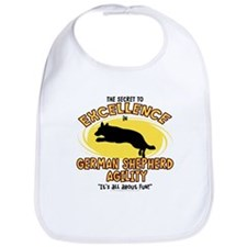 Secret German Shepherd Agility Bib