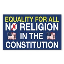Equality For All Rectangle Decal