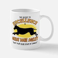 Secret Great Dane Agility Mug