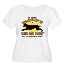 Secret Great Dane Agility Women's Plus Size Tee