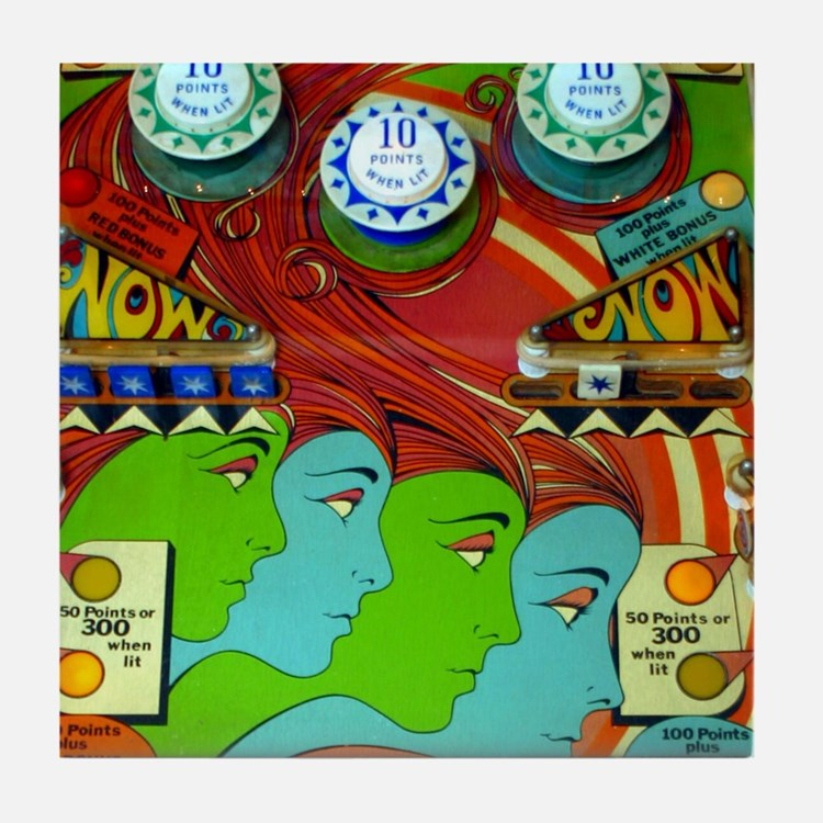 Pinball Wizard Tile Coaster