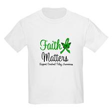 Cerebral Palsy FaithMatters T-Shirt