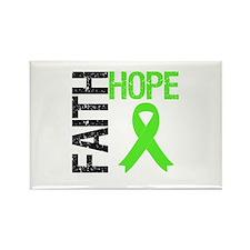Lymphoma Faith Hope Rectangle Magnet