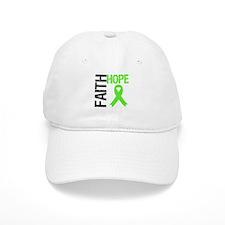 Lymphoma Faith Hope Baseball Cap