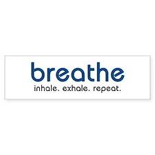 Breathe Bumper Car Sticker