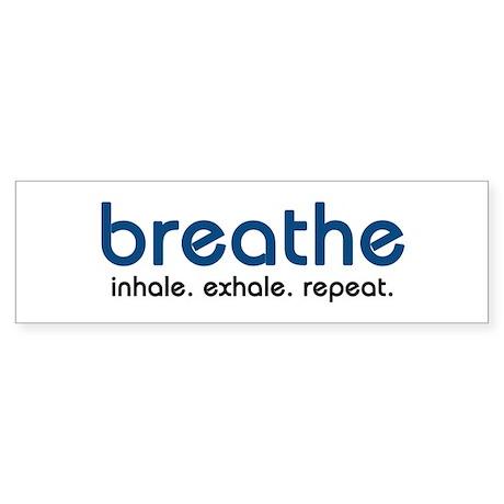 Breathe Bumper Sticker (10 pk)