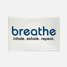 Breathe Rectangle Magnet