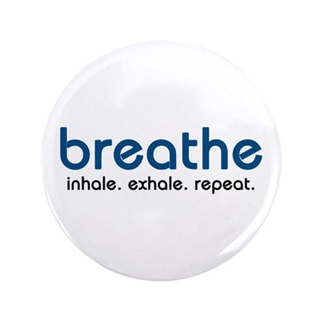 """Breathe 3.5"""" Button (100 pack)"""