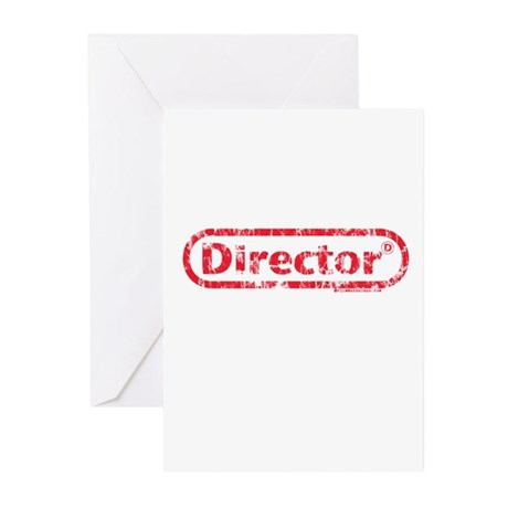 Director. Greeting Cards (Pk of 10)