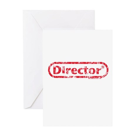 Director. Greeting Card