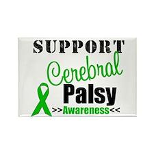 Cerebral Palsy Support Rectangle Magnet