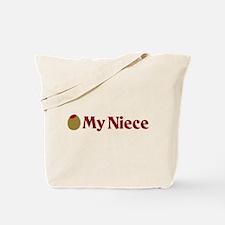 Olive (I Love) My Niece Tote Bag