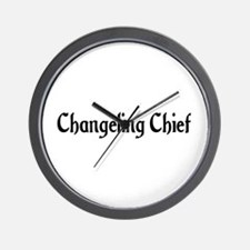 Changeling Chief Wall Clock