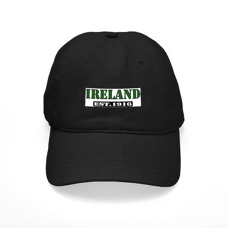 """""""IRELAND-Est 1916"""" Black Cap"""