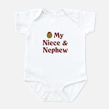Olive (I Love) My Niece and Nephew Infant Bodysuit