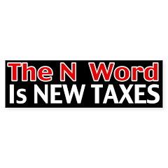The N Word Bumper Sticker (50 pk)