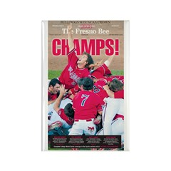 Champs! Rectangle Magnet (10 pack)