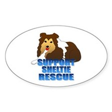 Support Sheltie Rescue Decal